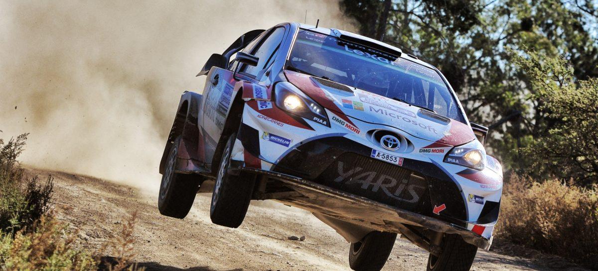 Toyota Yaris WRC на Ралли Аргентины