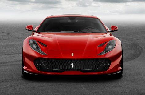 Ferrari назвала цену на новую модель 812 Superfast Grand Tourer