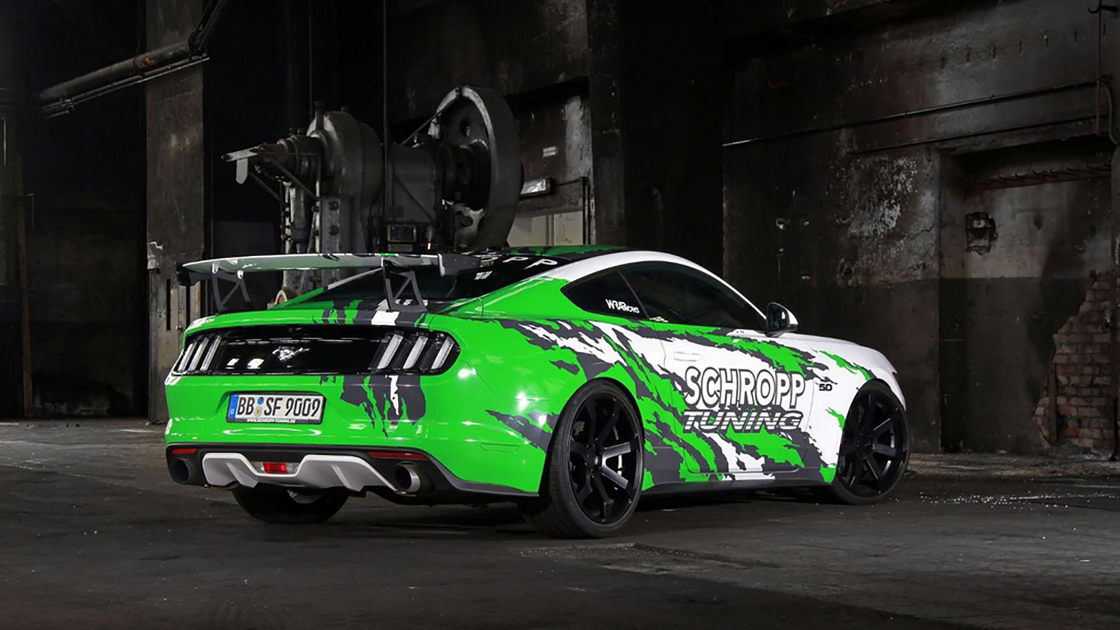 Ford Mustang Schropp Tuning