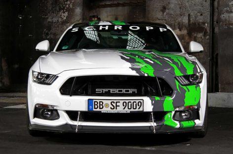 """""""Бешеный"""" Ford Mustang показали в Германии"""