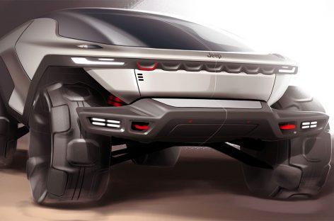 Jeep представил свою версию внедорожника будущего