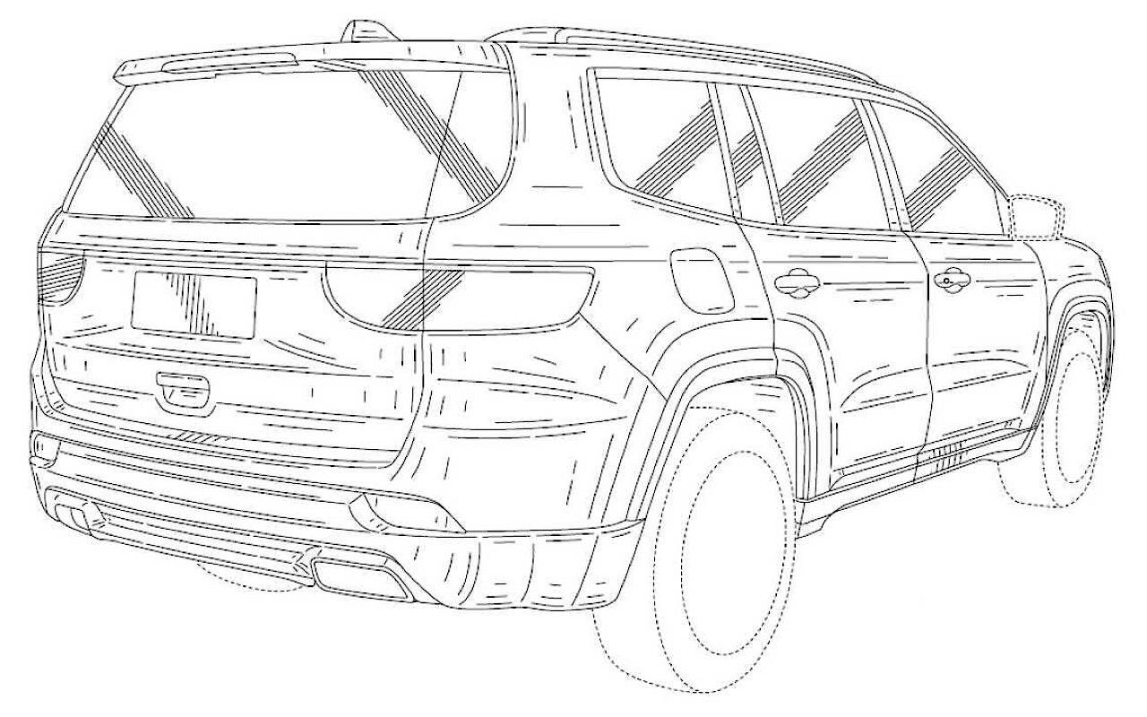 Jeep Grand Wagoneer эскиз