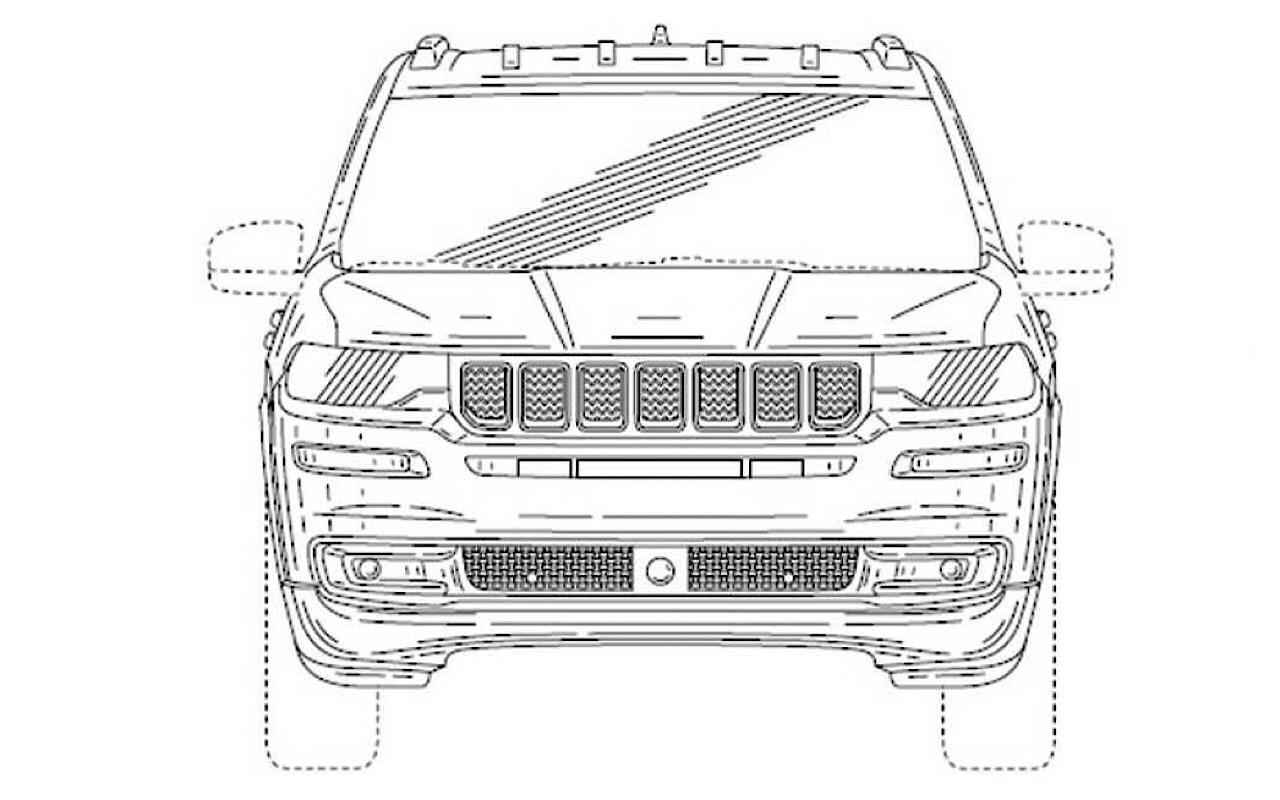 Первые изображения— Новый вседорожный автомобиль Jeep