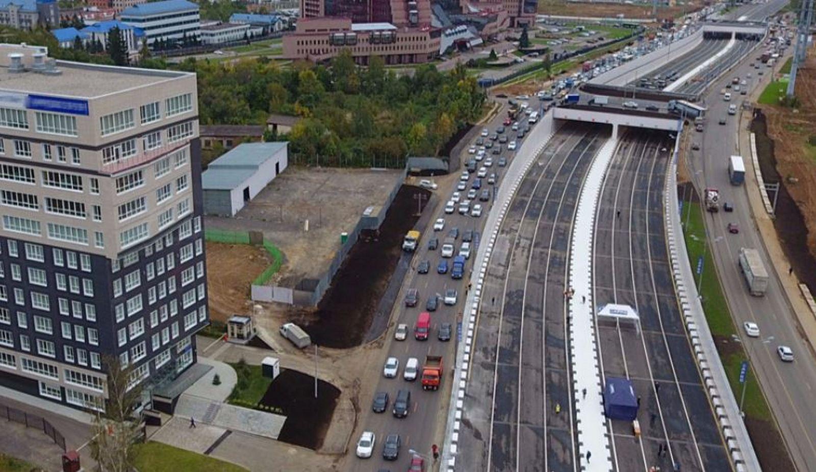 Калужское шоссе реконструкция