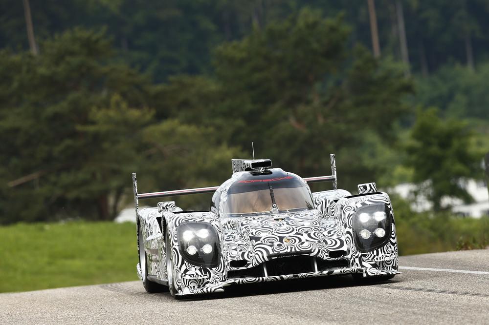 Porsche-LMP1-Rollout in Weissach 2013