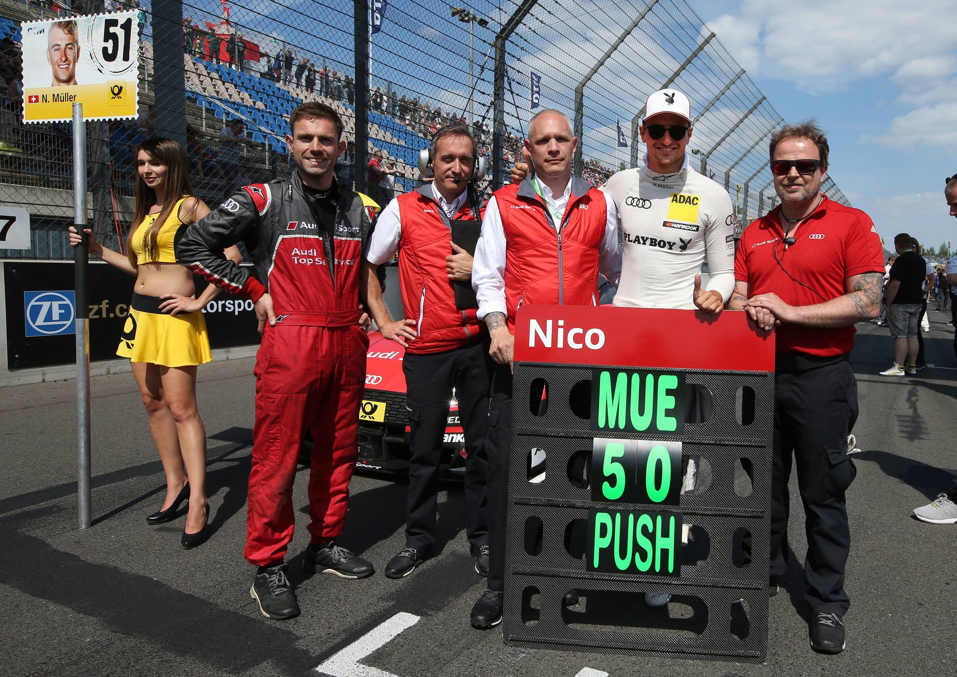 Audi DTM Lausitzring 2017