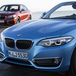 Новые BMW 2й серии в исполнении «купе» и «кабриолет»