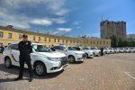 Outlander PHEV в полиции Украины