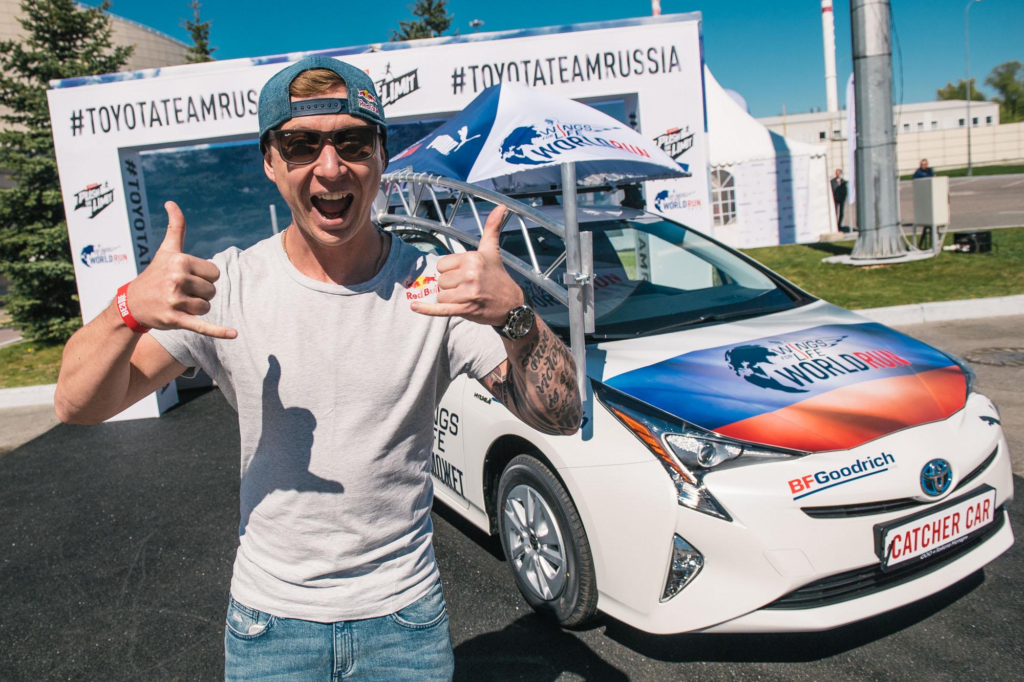 Алексей Колесников (FMX), водитель кетчер-кара