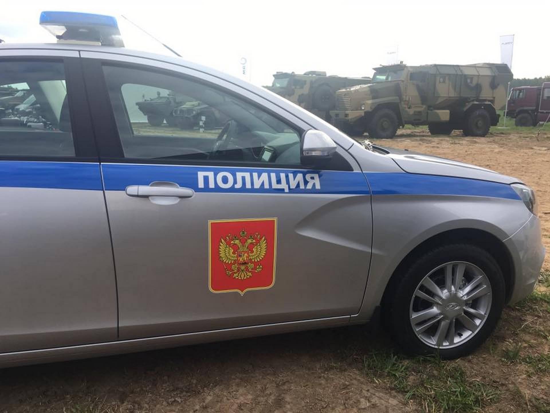 Lada Vesta для полиции