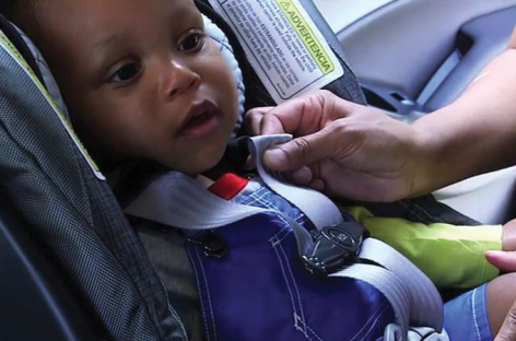 Ребёнок без детского кресла