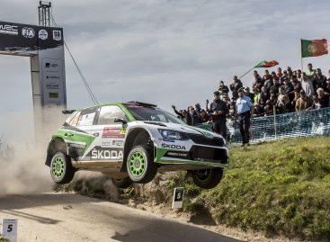 Победа Škoda на ралли Португалии