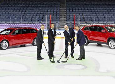 Skoda продолжает играть в хоккей