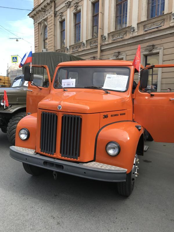 Scania retro