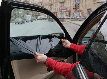 «Отлов» тонированных автомобилей продолжается