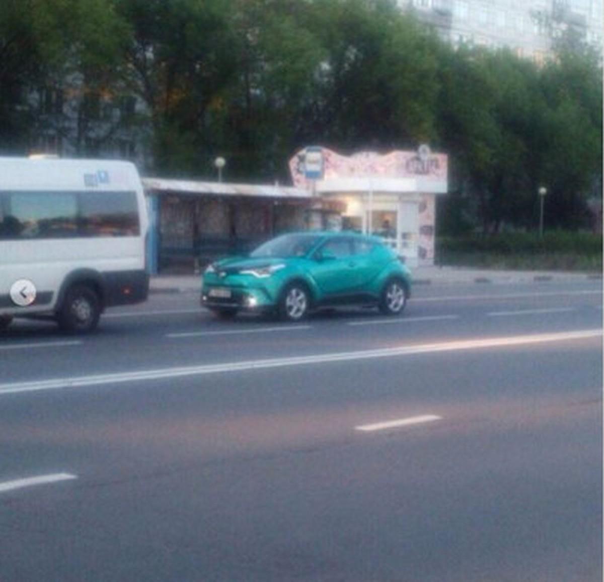 Toyota C-HR в России