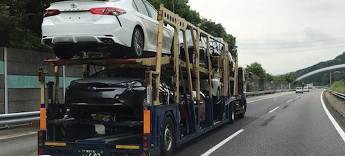 Новая Toyota Camry попала в кадр