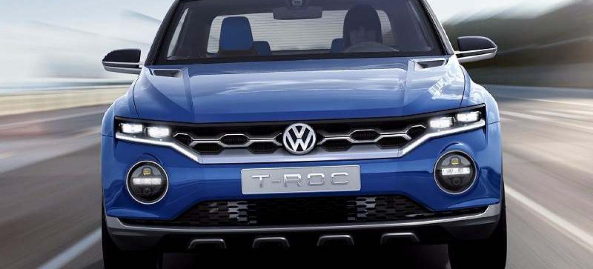 Volkswagen летом покажет новую модель T-Roc