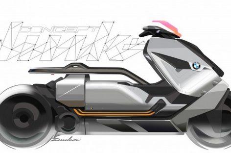 BMW Motorrad Concept Link – байк из будущего