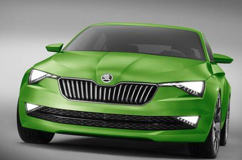 Skoda обзаведётся электрическим спорткаром
