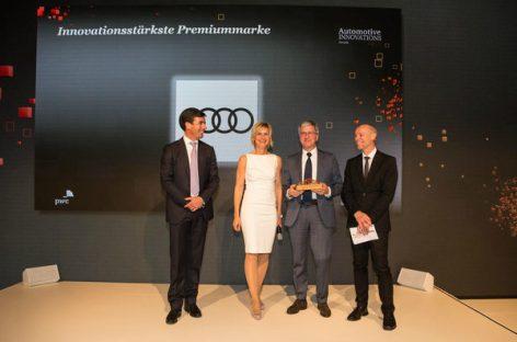 Инновации Audi оценили по достоинству