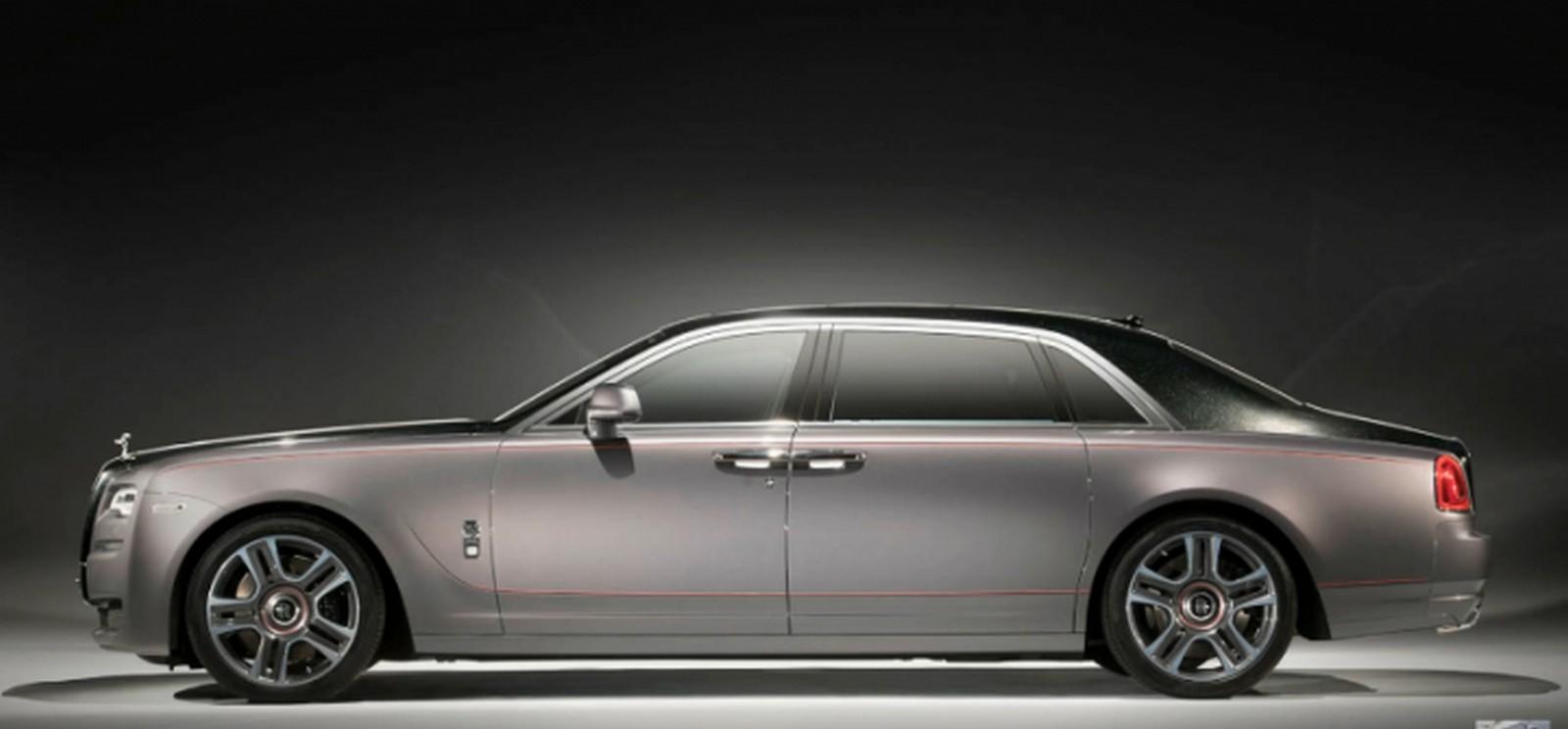 Бриллиантовый Rolls-Royce