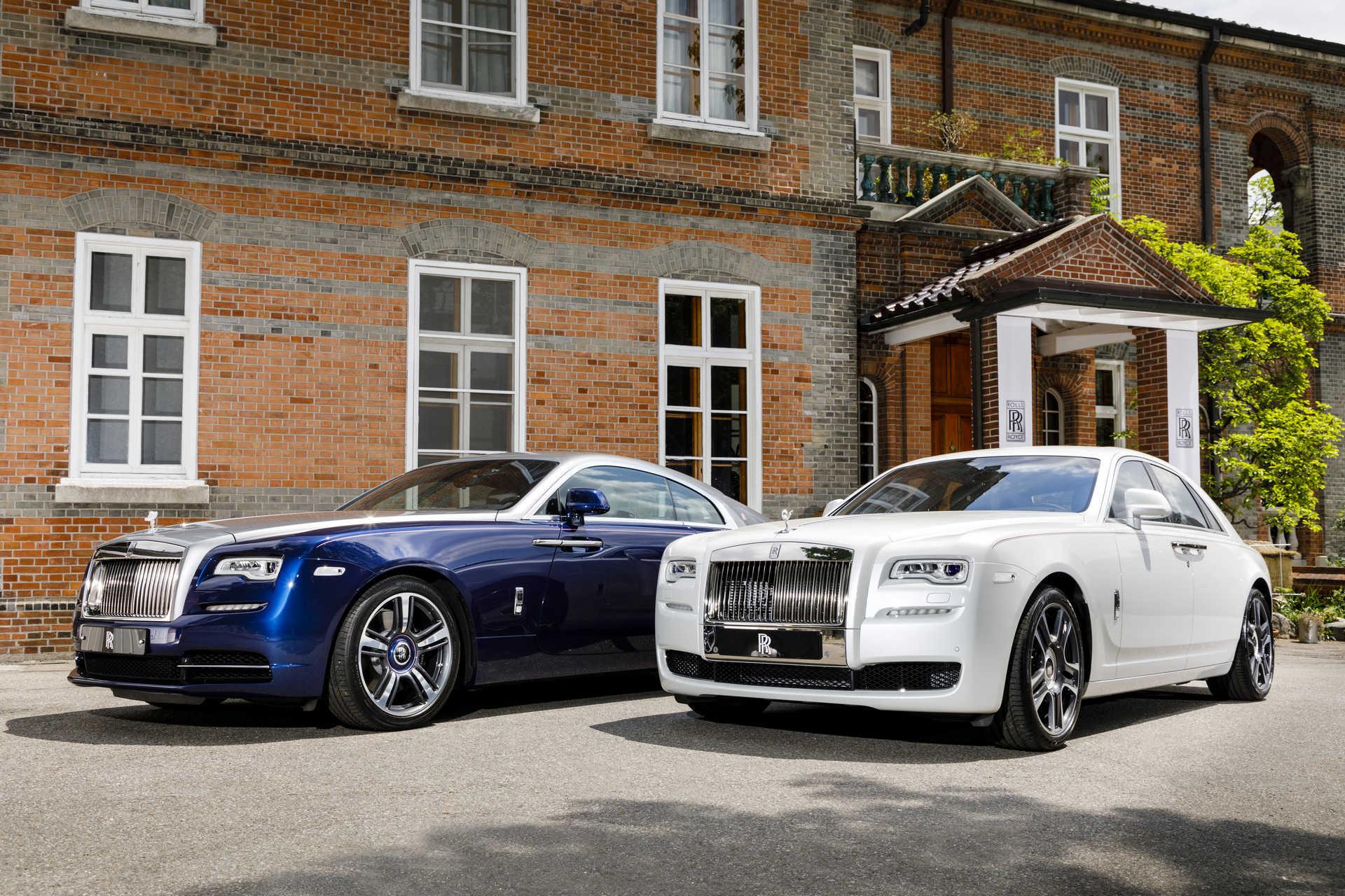 Wraith Busan Edition и Rolls Royce Ghost Seoul Edition