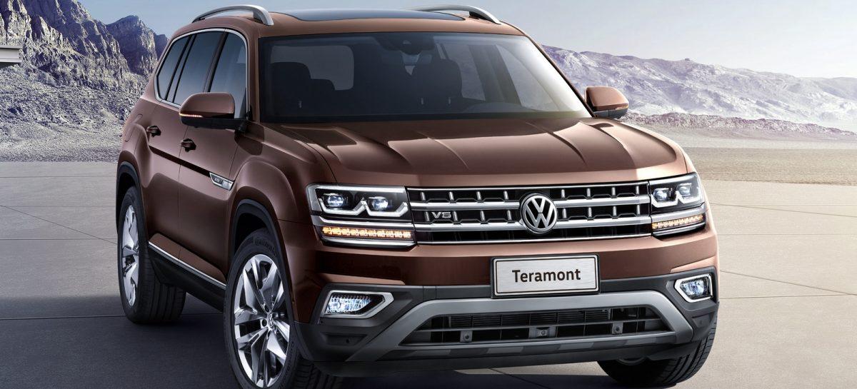 Тест-драйв Volkswagen Teramont: Нелегкий выбор
