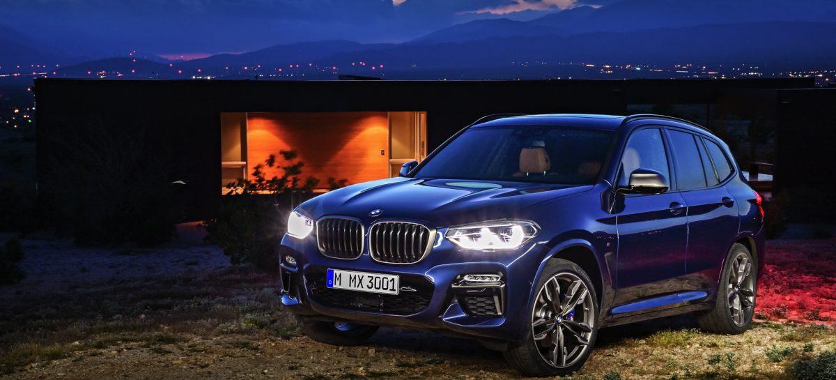 Премьера BMW X3