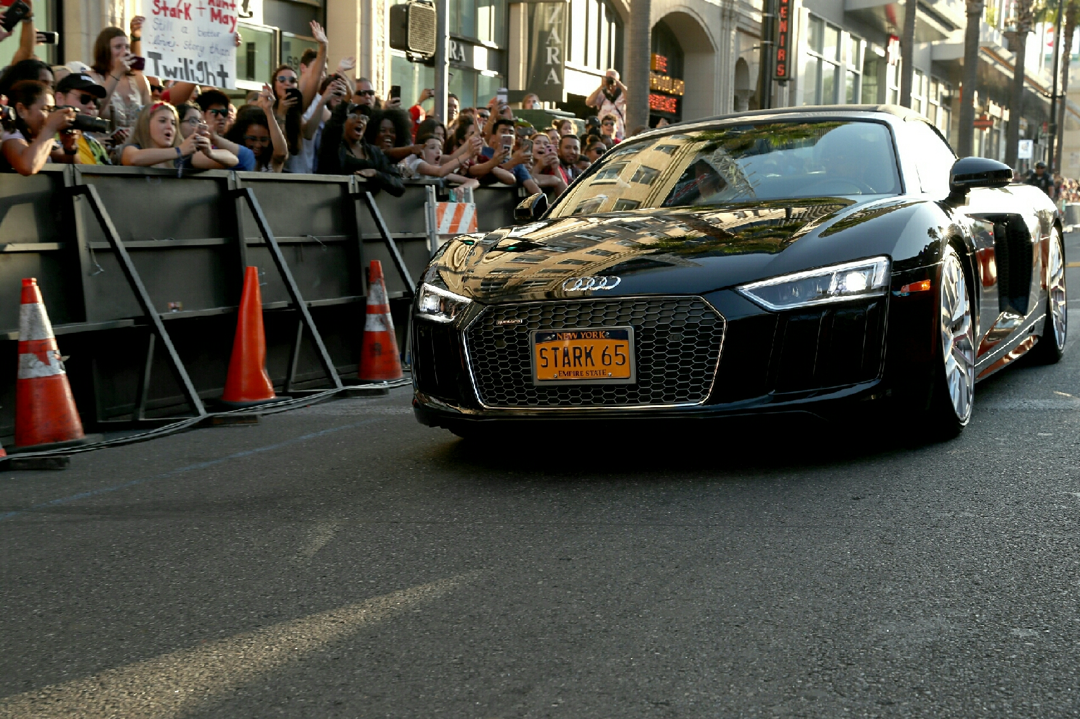 Audi A8 на премьере фильма «Человек-паук: Возвращение домой»