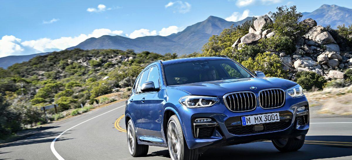 Новое поколение BMW X3