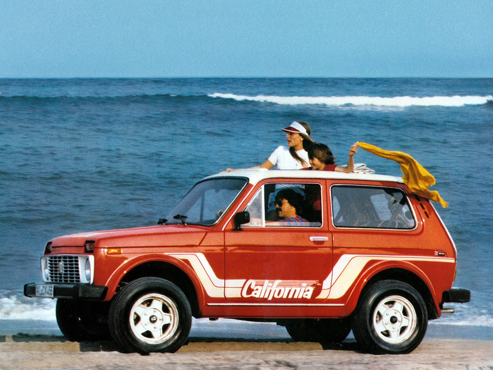 Deutsche Lada Niva California