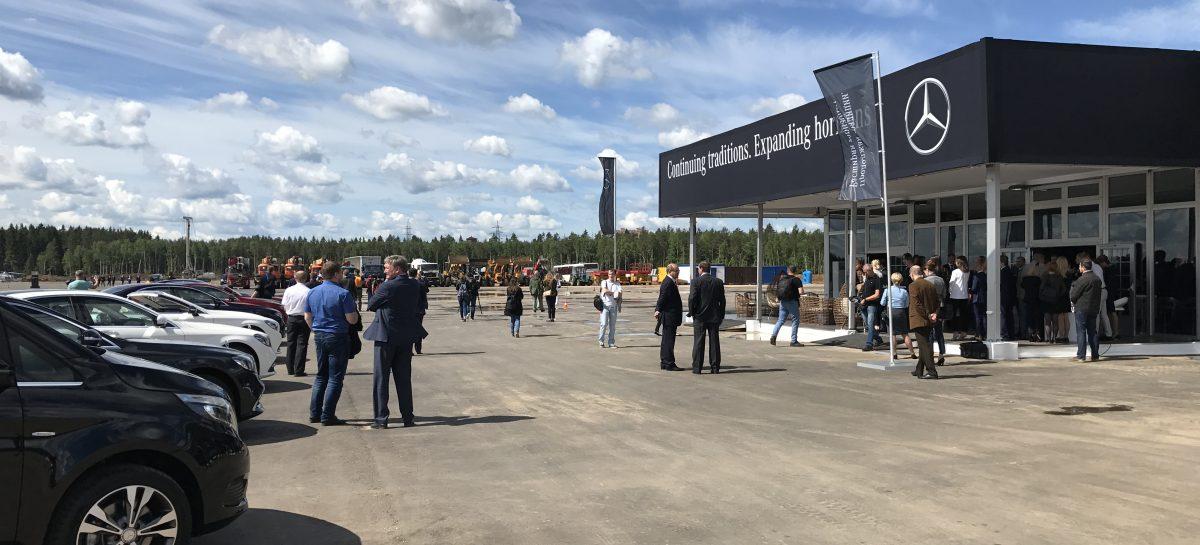 Завод Mercedes будет построен за 1,5 года