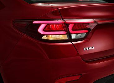 KIA Rio выйдет в новом дизайне