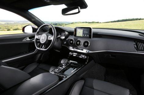 Старт продаж Kia Stinger – начало 2018 года