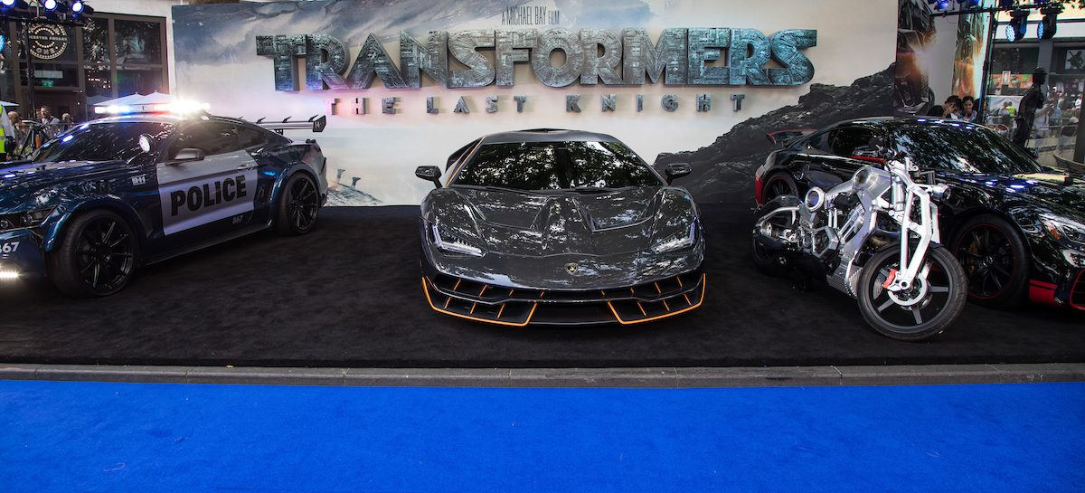 Lamborghini Centenario Coupé в ролитрансформера