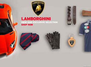 Lamborghini представил коллекцию одежды Весна-Лето 2018