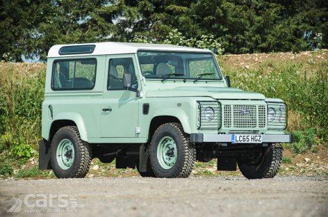 Роуэн Аткинсон выставил на аукцион свой Land Rover Defender