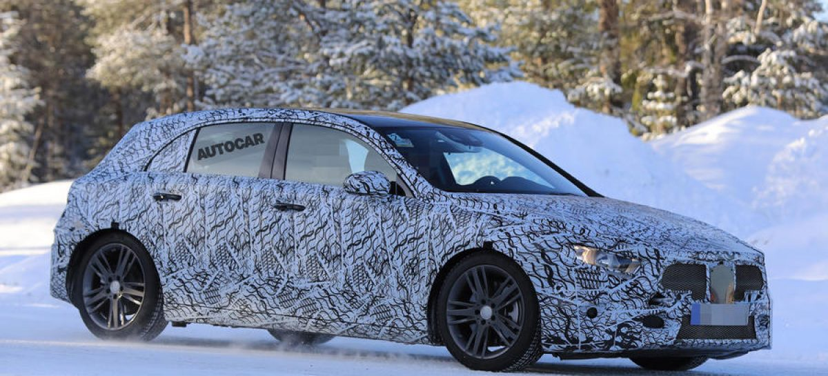 Новый Mercedes-Benz A-Class был замечен во время тестов