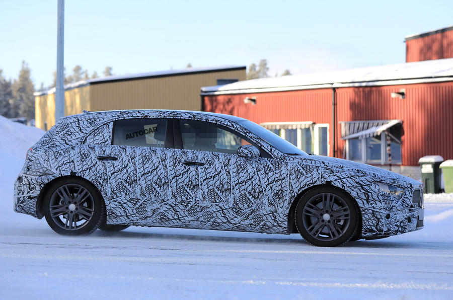 Mercedes-Benz A-Class new generation 2017