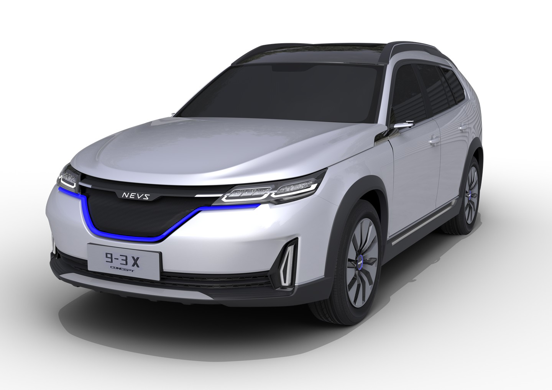 NEVS 9-3x concept 2017