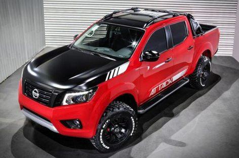 Nissan представил доработанный концепт Navara