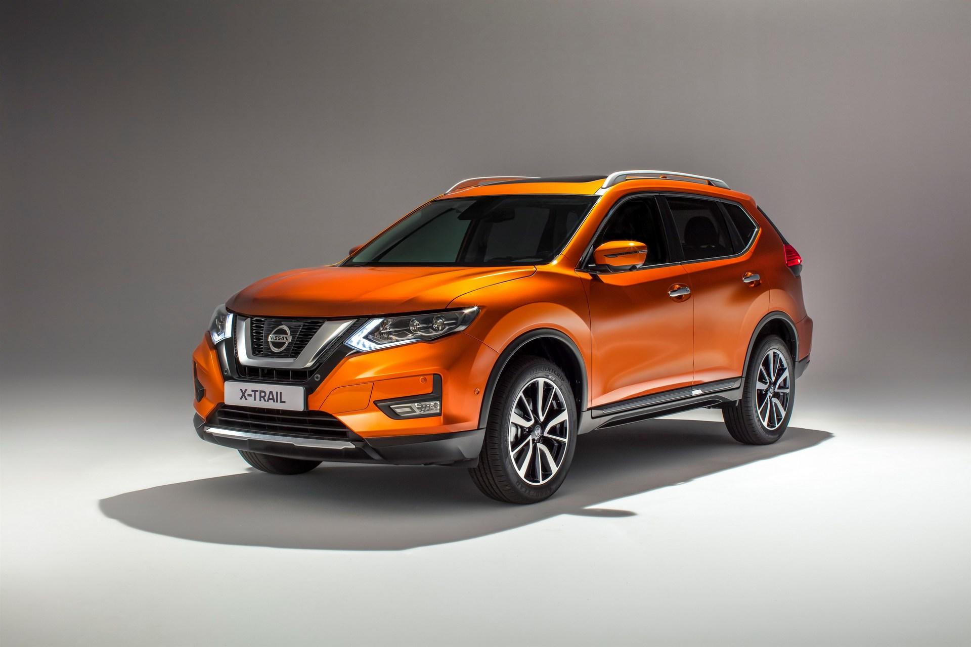 Обновленный Nissan X-Trail 2017