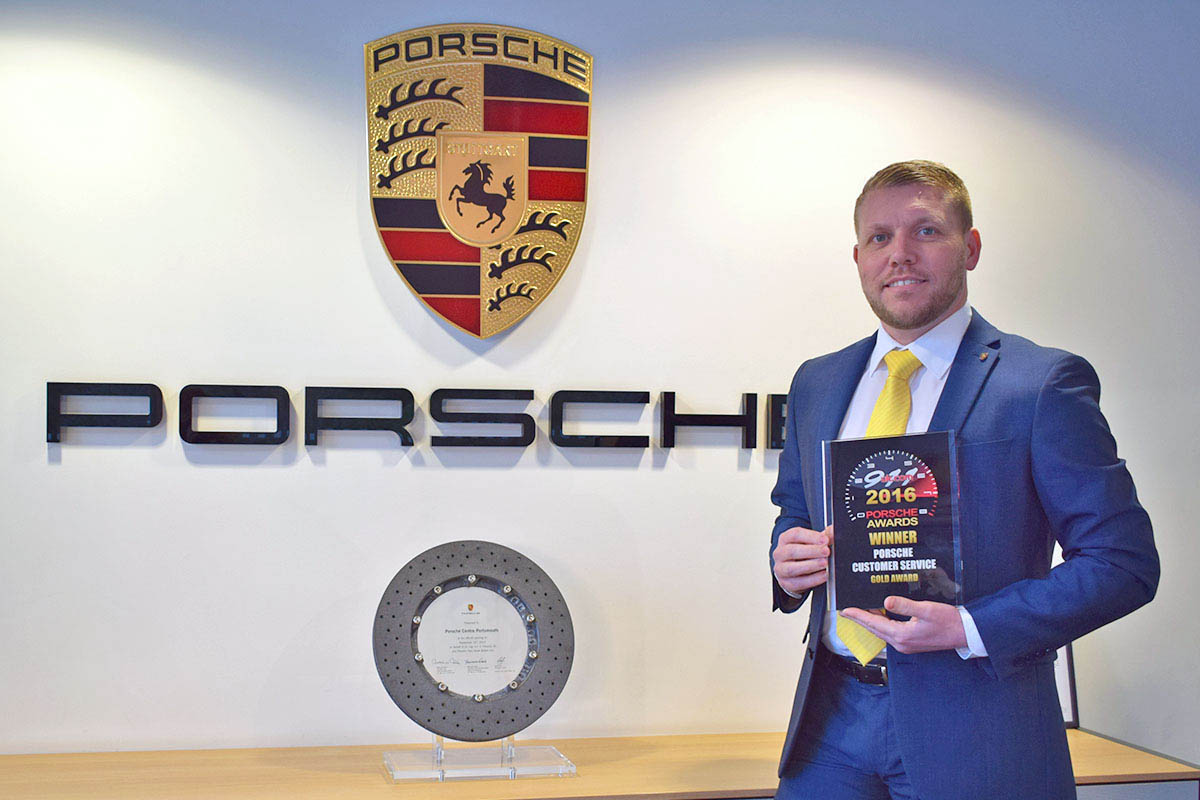 Porsche -Gold Award