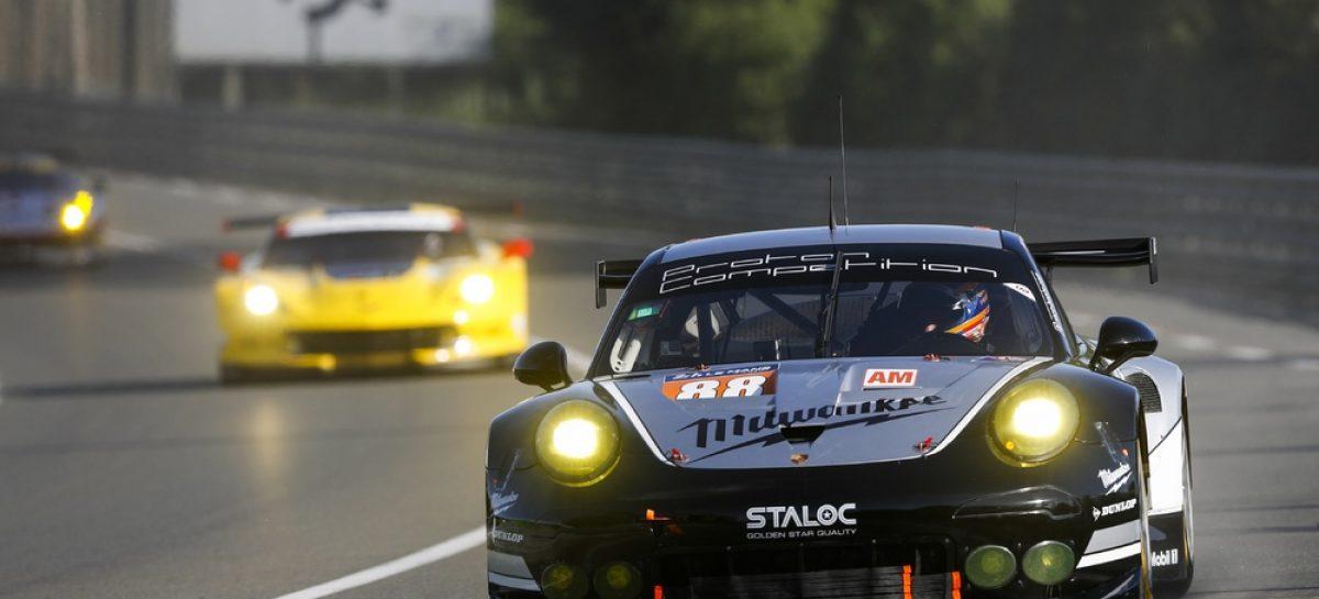 Дебют нового Porsche 911 RSR в самой сложной автомобильной гонке