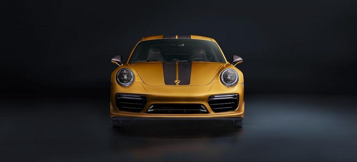Представлена эксклюзивная серия спортивных Porsche 911 Turbo S