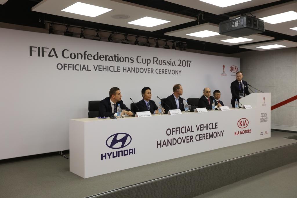 Пресс-конференция Церемонии передачи автомобилей