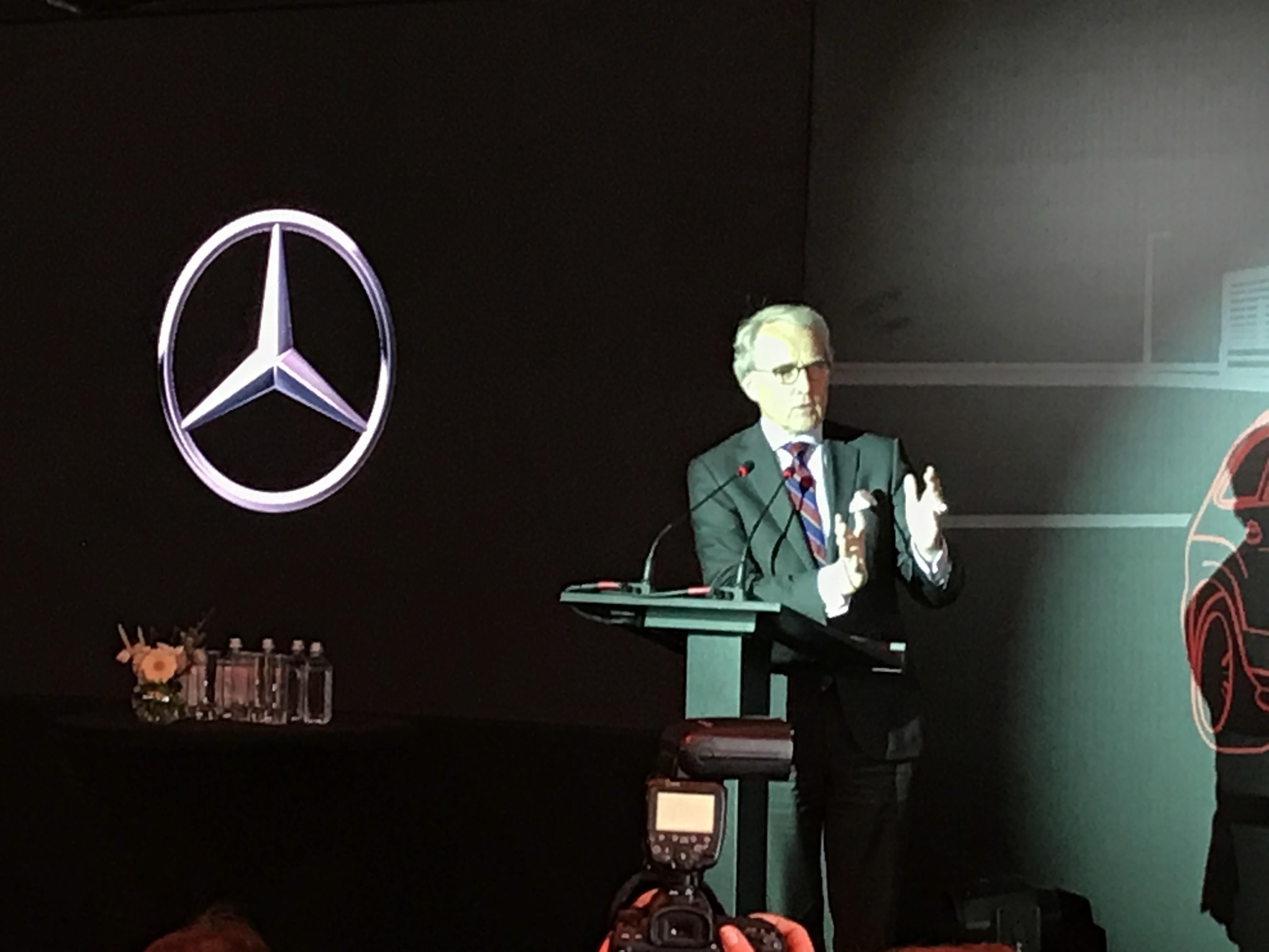 Mercedes-Benz Есипово завод открытие