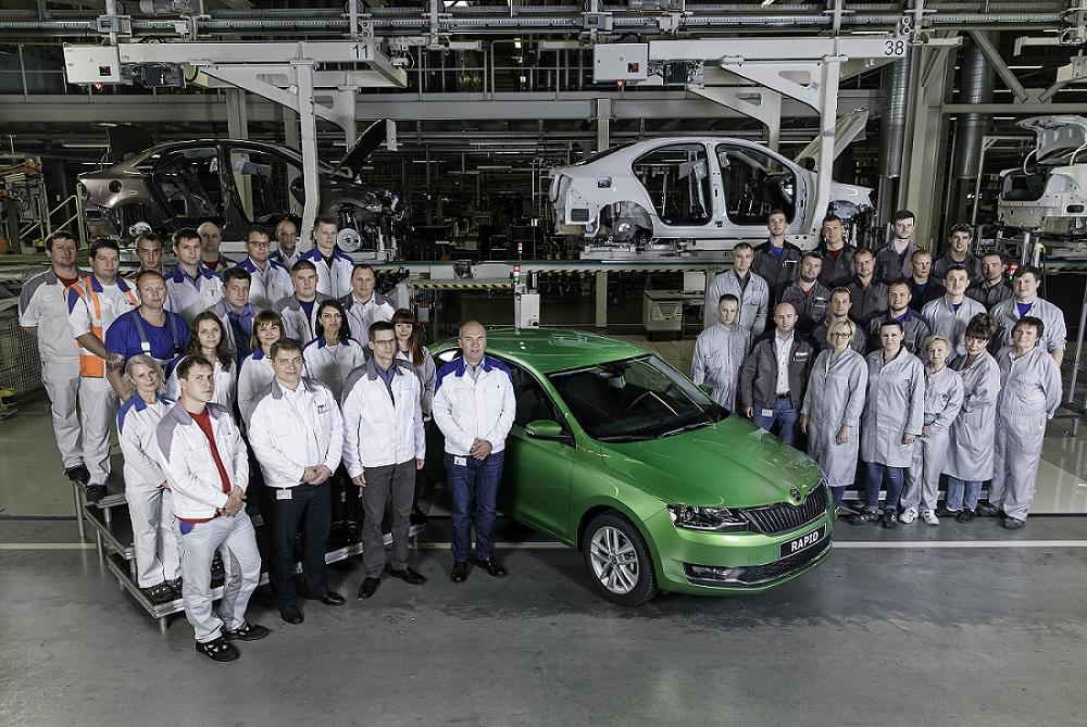 Škoda Rapid 2017