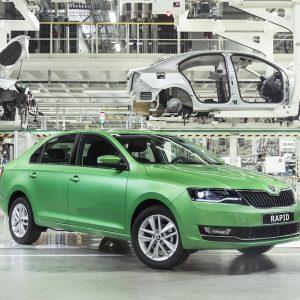 Новый Škoda Rapid начнут производить в Калуге